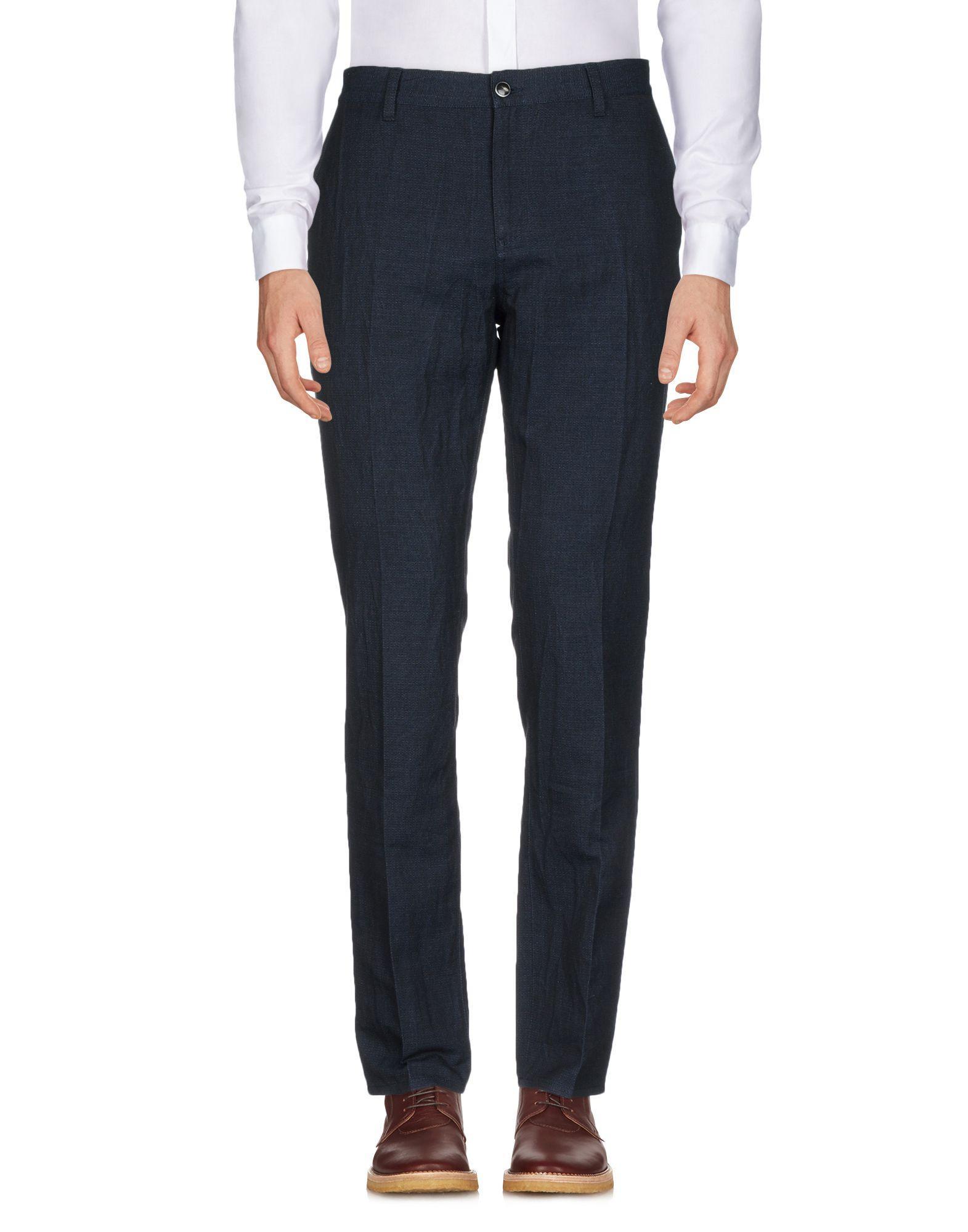 John Varvatos Casual Pants In Dark Blue