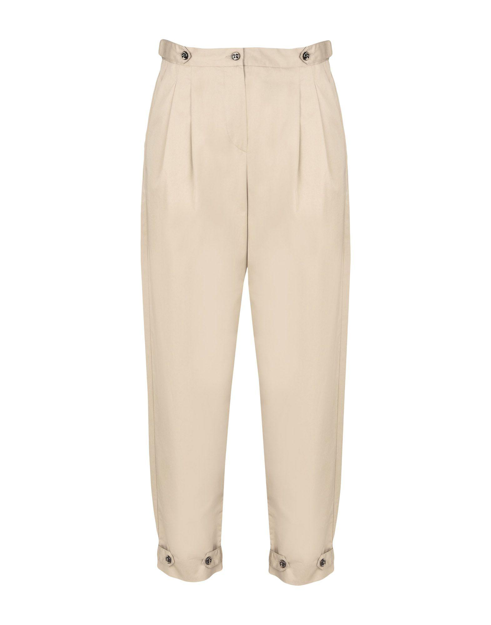 Emporio Armani Casual Pants In Beige