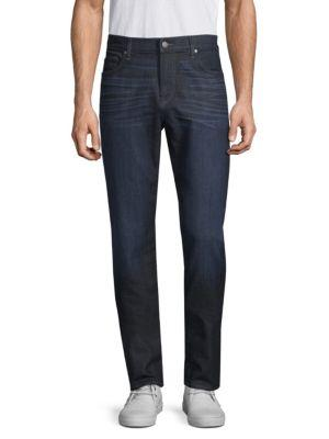7 For All Mankind Adrien Clean Pocket Slim Fit Jeans In Perennial