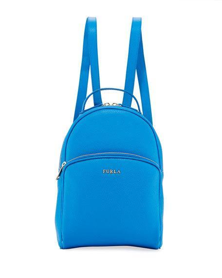 974669c93c3f Furla Frida Medium Leather Backpack In Medium Blue
