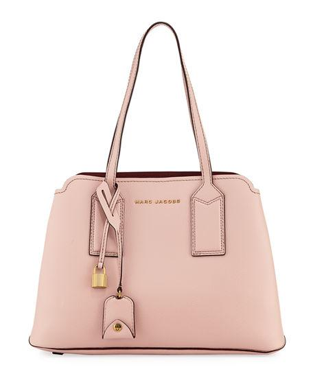 2bae7d3cb82a Marc Jacobs The Editor Large Pebbled Leather Tote Bag In Light Pink ...