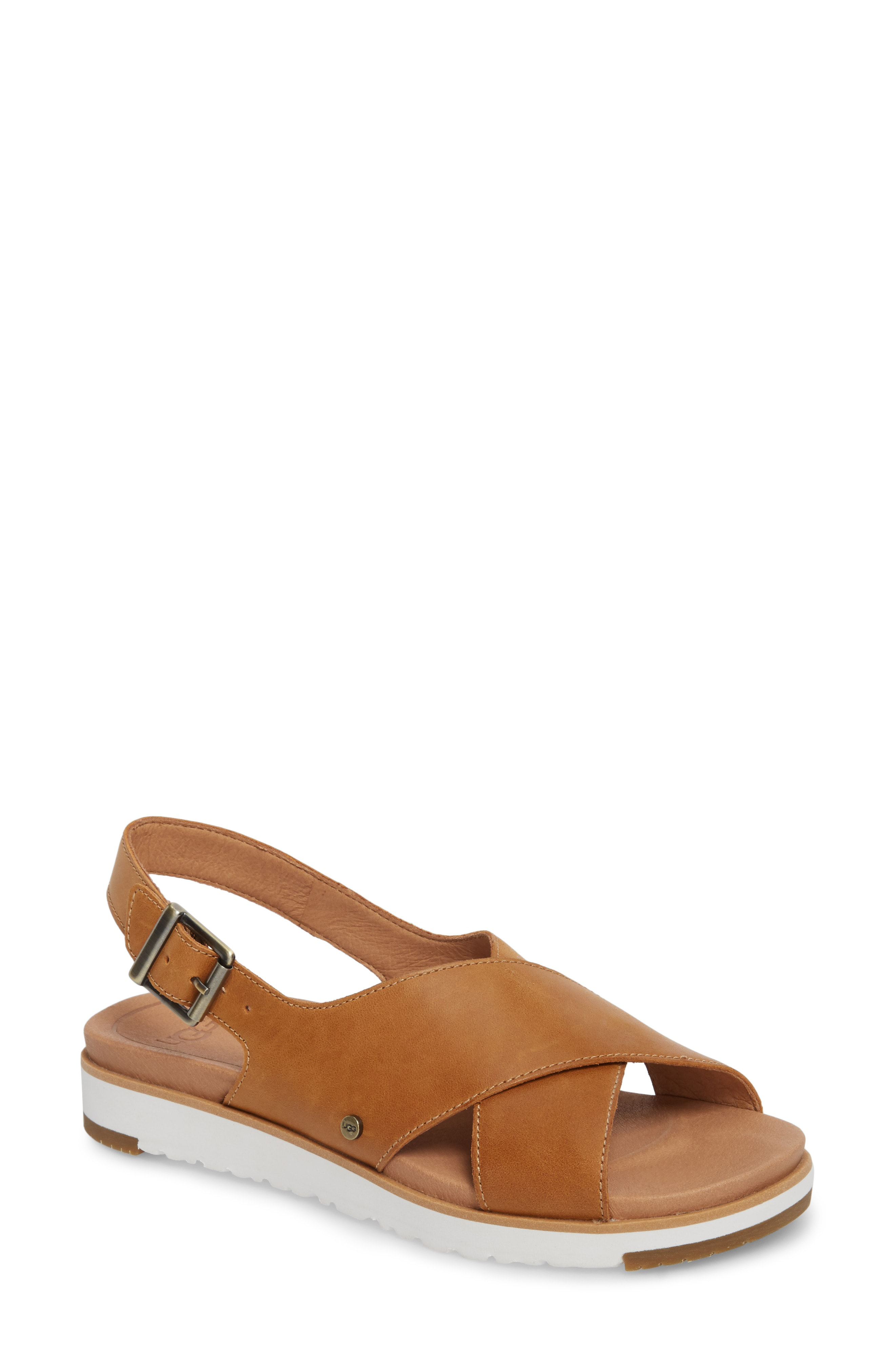 441d1746367 Ugg Kamile Sandal in Almond Leather
