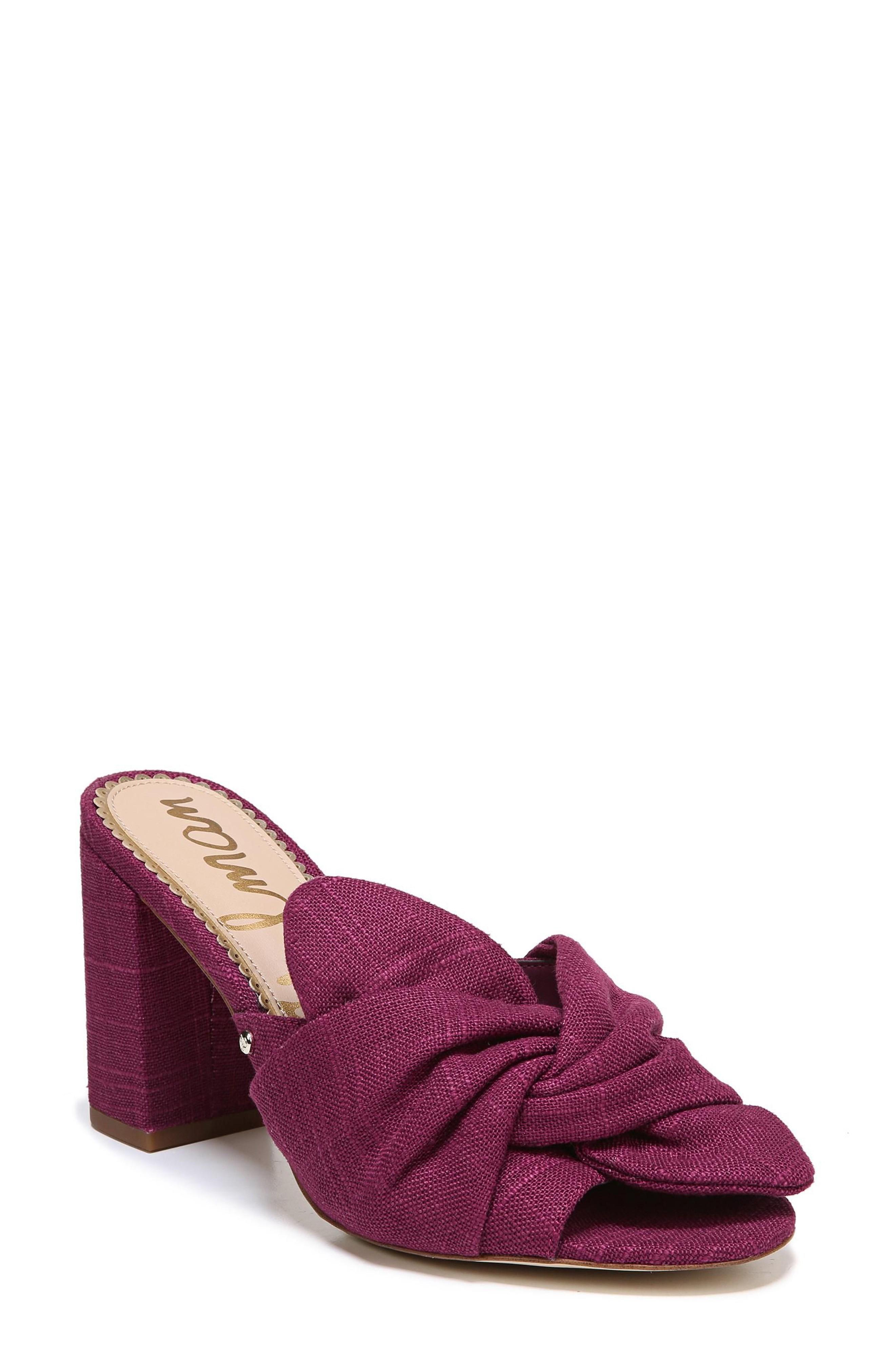 780330ce36a Sam Edelman Oda Slide Sandal In Mulberry Pink