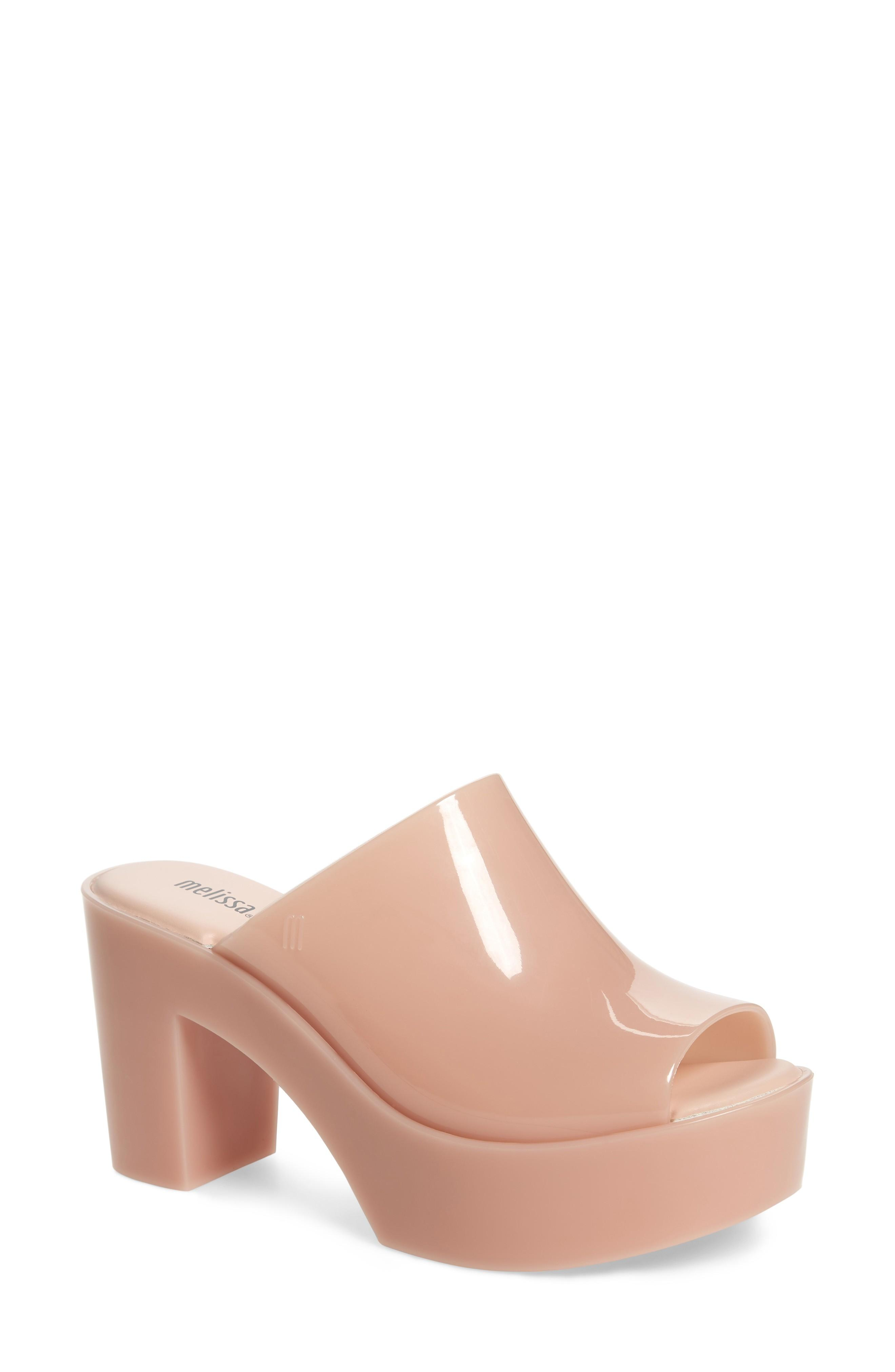 655837db179f ... curvy appeal of a well-cushioned mule molded from washable PVC with a  signature tutti-frutti scent. Style Name  Melissa Open Toe Platform Mule ( Women).