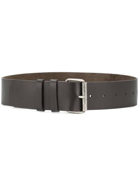 Aspesi Buckled Belt - Brown