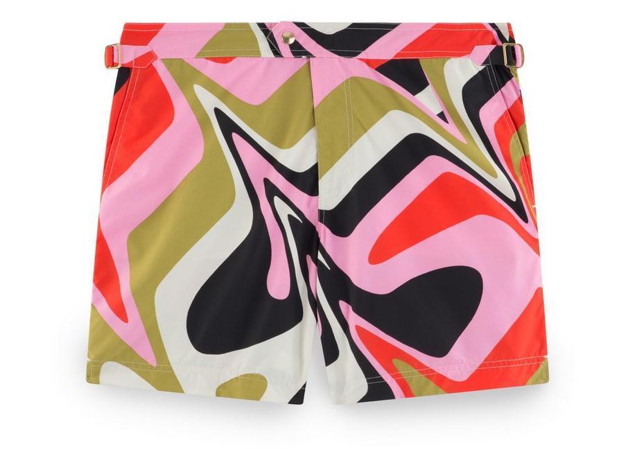 cfceea308a Tom Ford Geometric Classic Swim Short In Pink | ModeSens