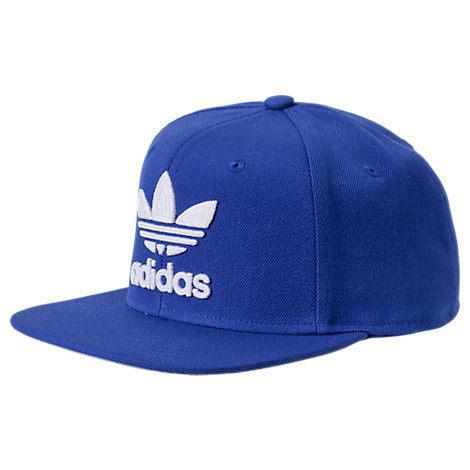 Men's Originals Trefoil Chain Snapback Hat, Blue