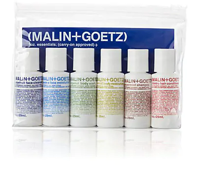 Malin + Goetz Malin+Goetz Carry-On Essentials Kit In Colorless