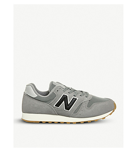 New Balance Ml373 Suede And Mesh Trainers In Grey