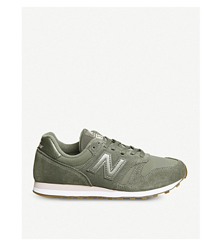 New Balance W373 Suede Sneakers In Light Khaki