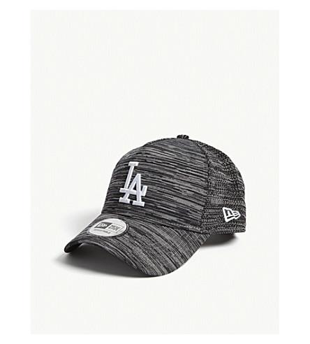 New Era 9Fifty Engineered Fit La Dodgers Baseball Cap In Grey Black Graphite