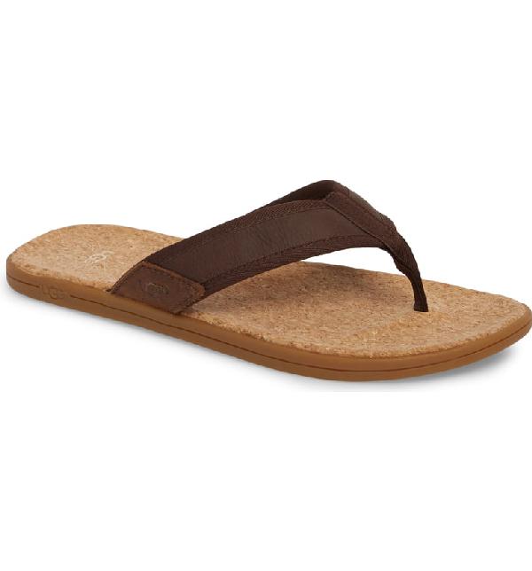 76209cecfe9 Men's Seaside Flip Flops Men's Shoes in Chestnut