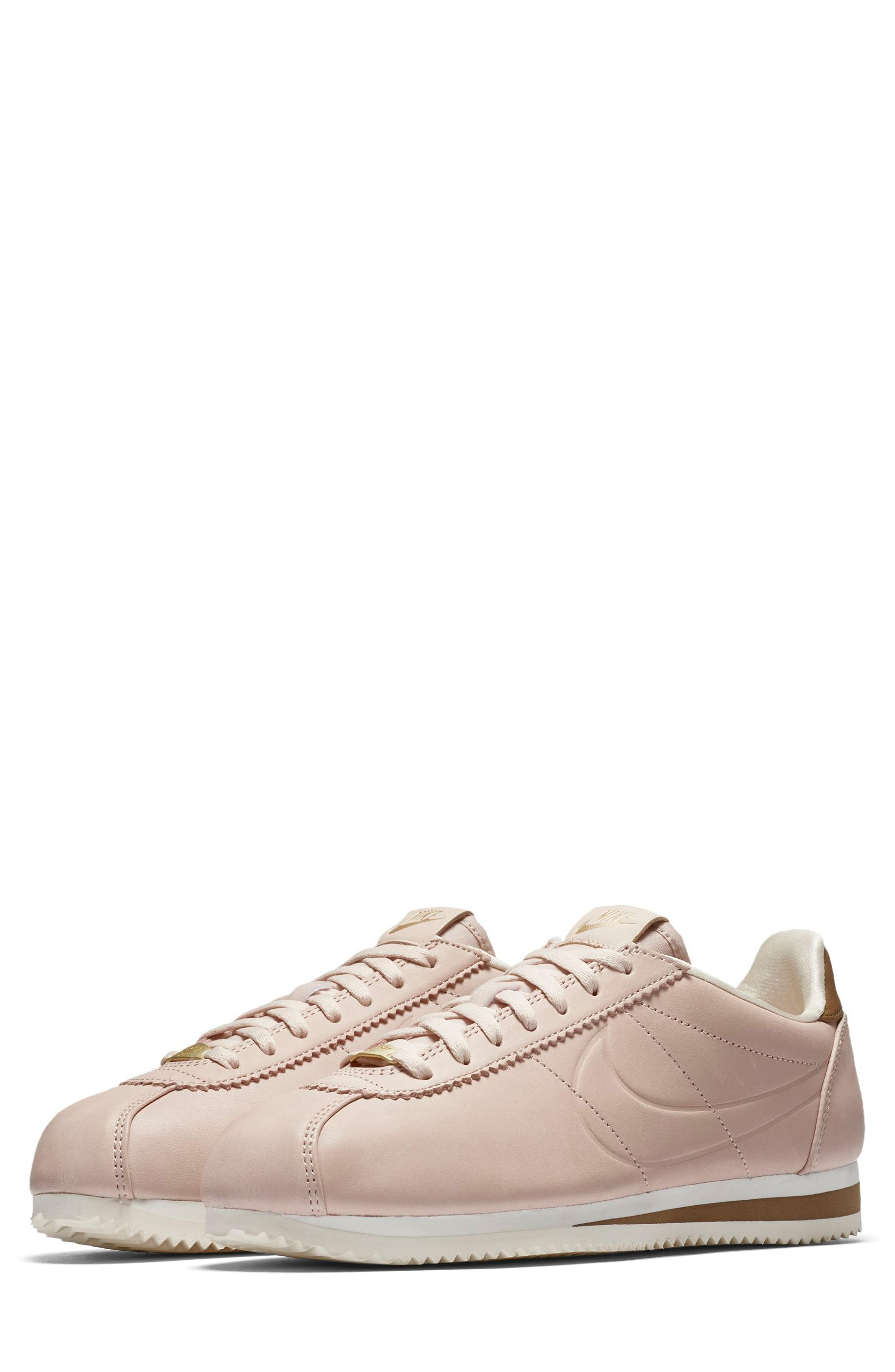 373514334492 Nike X Maria Sharapova La Cortez Premium Sneaker In Particle Beige Particle  Beige