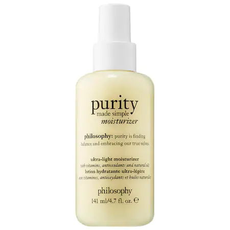 Philosophy Purity Made Simple Ultra-light Moisturizer 4.7 oz/ 141 ml