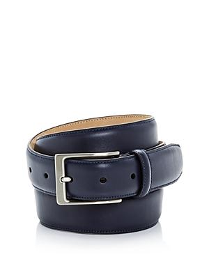 653b496f94c The Men s Store At Bloomingdale s Leather Belt - 100% Exclusive In Navy