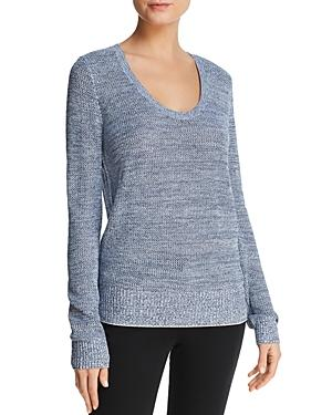 99ec31c7ae Theory Prosecco Marled Sweater In Admiral Mix   ModeSens
