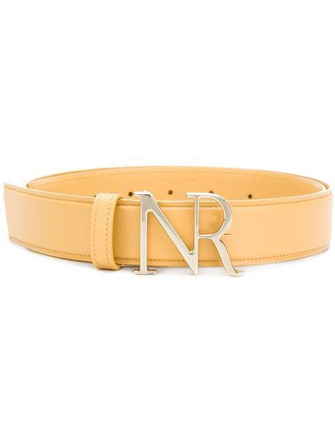 Nina Ricci Branded Buckle Belt