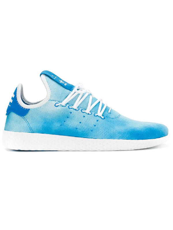 e8123a4e6e808 Adidas Originals Men s Pharrell Williams Hu Holi Lace Up Sneakers In Blue