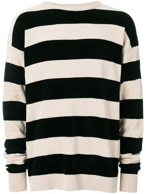 Laneus Striped Jumper - Nude & Neutrals