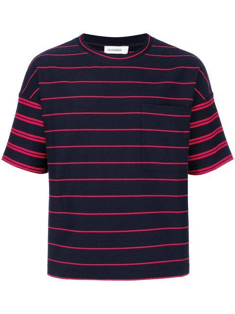 Jil Sander Oversized Striped T