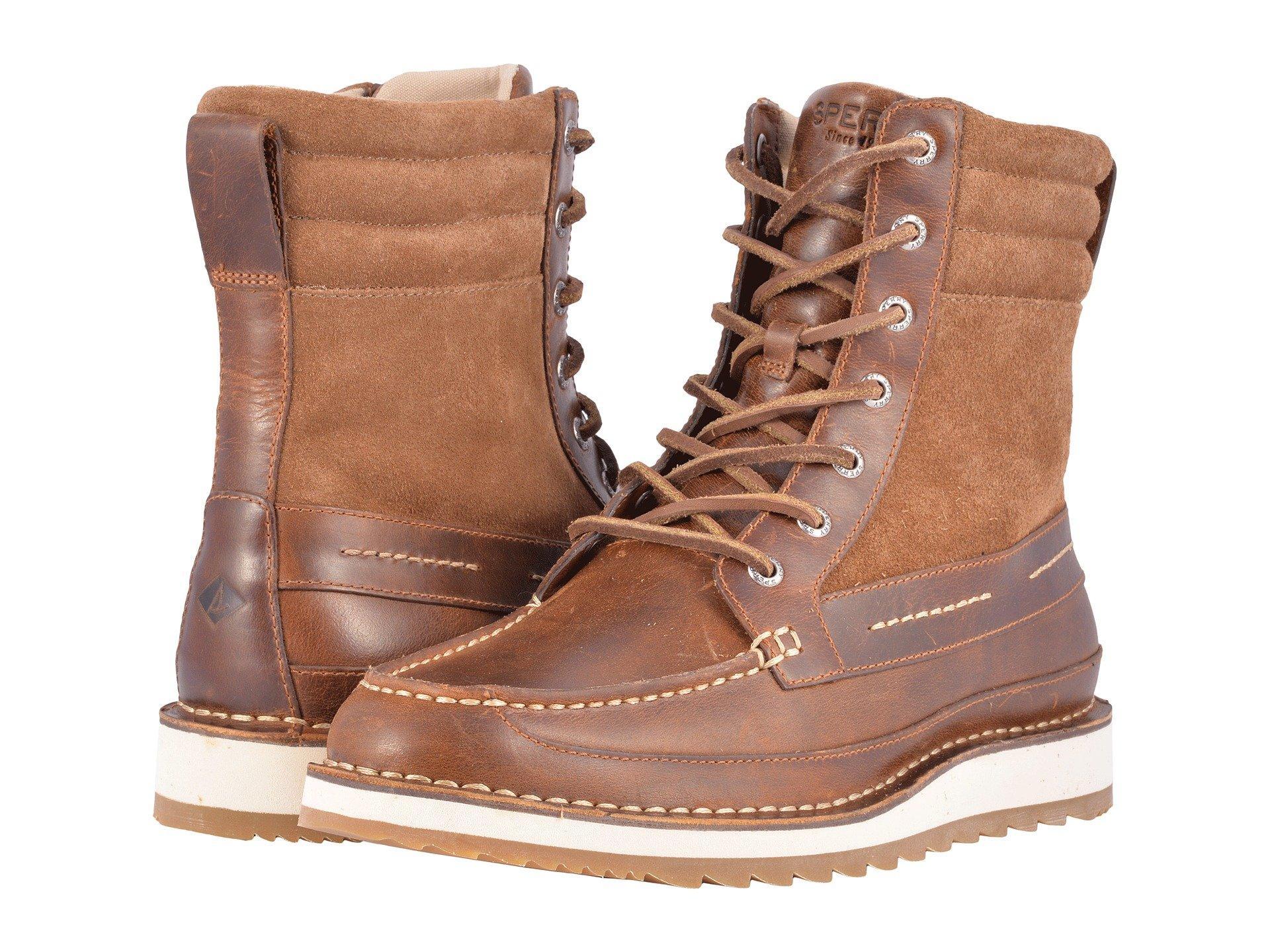 Sperry Dockyard Boot, Tan 1