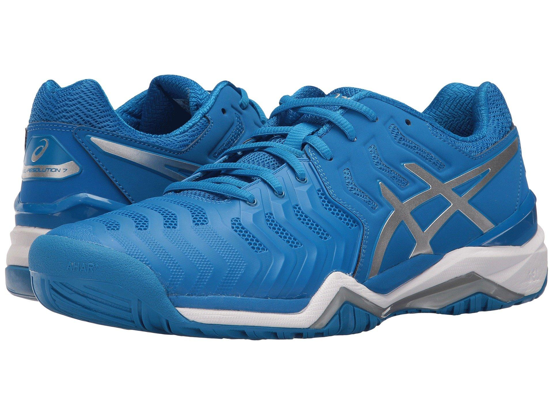 Asics Gel-resolution 7 In Directoire Blue/silver/white
