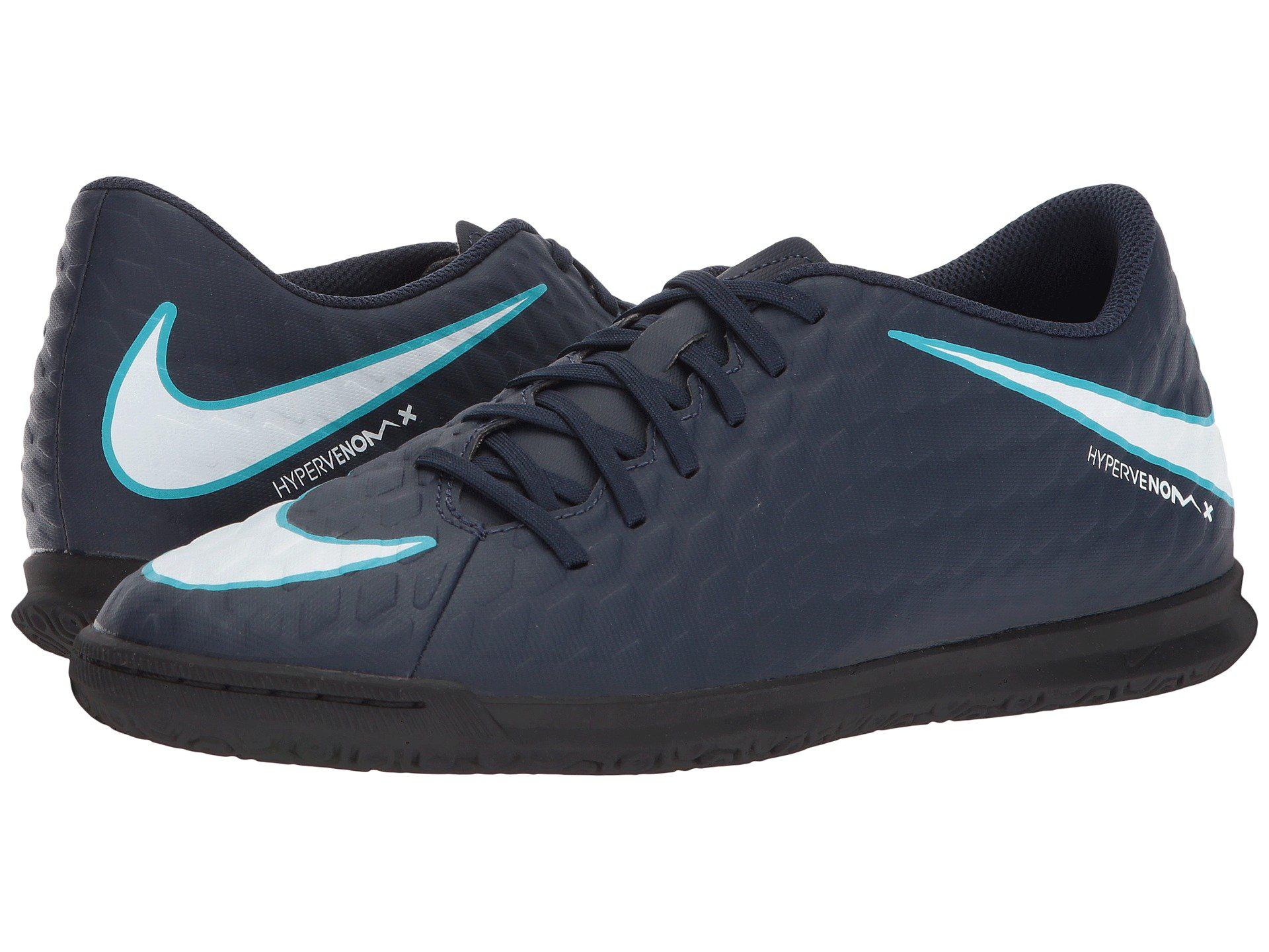 Nike Hypervenom Phade Iii Ic In Obsidian/white/gamma Blue/glacier Blue
