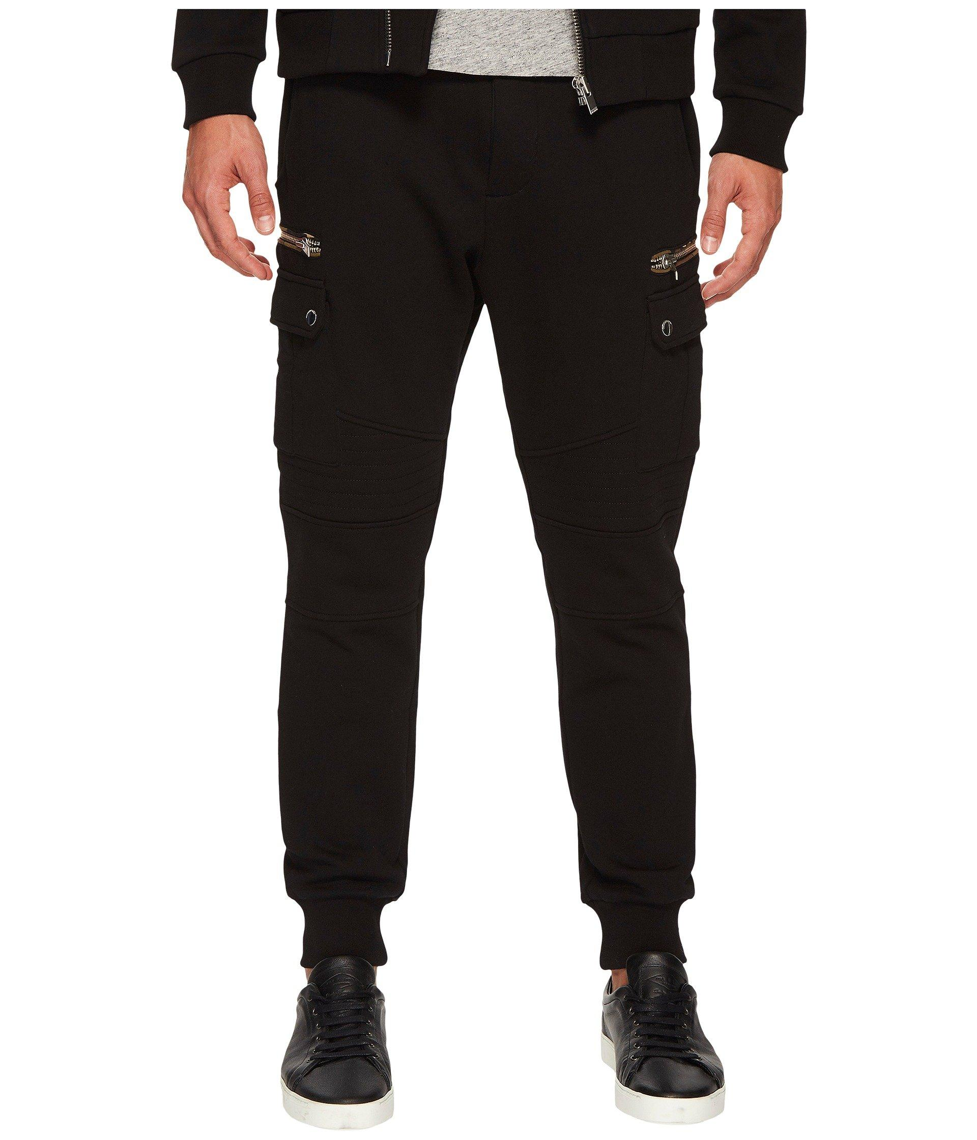 The Kooples Tracksuit With Camouflage Details In Black Brut