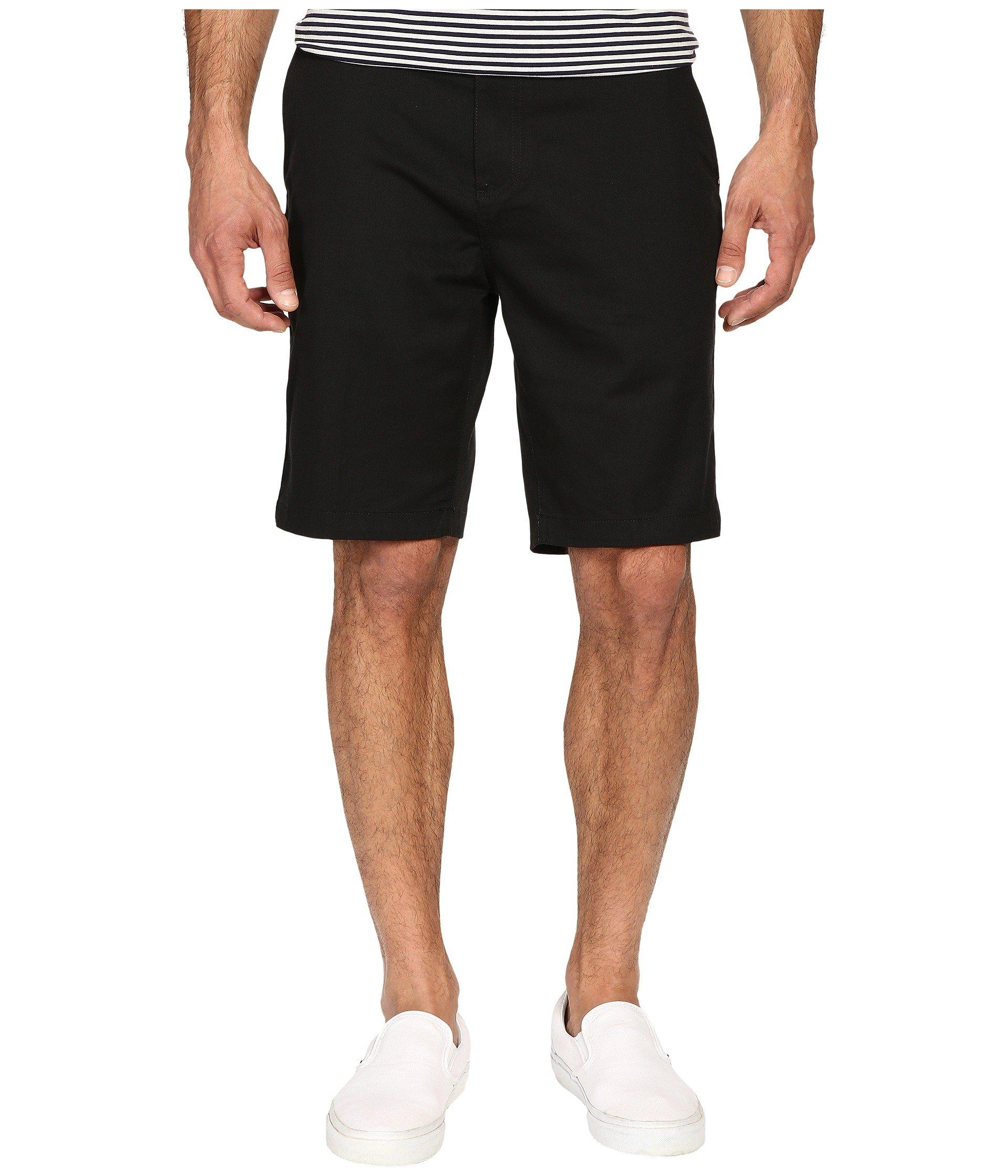 Quiksilver Everyday Union Stretch Chino Shorts In Black
