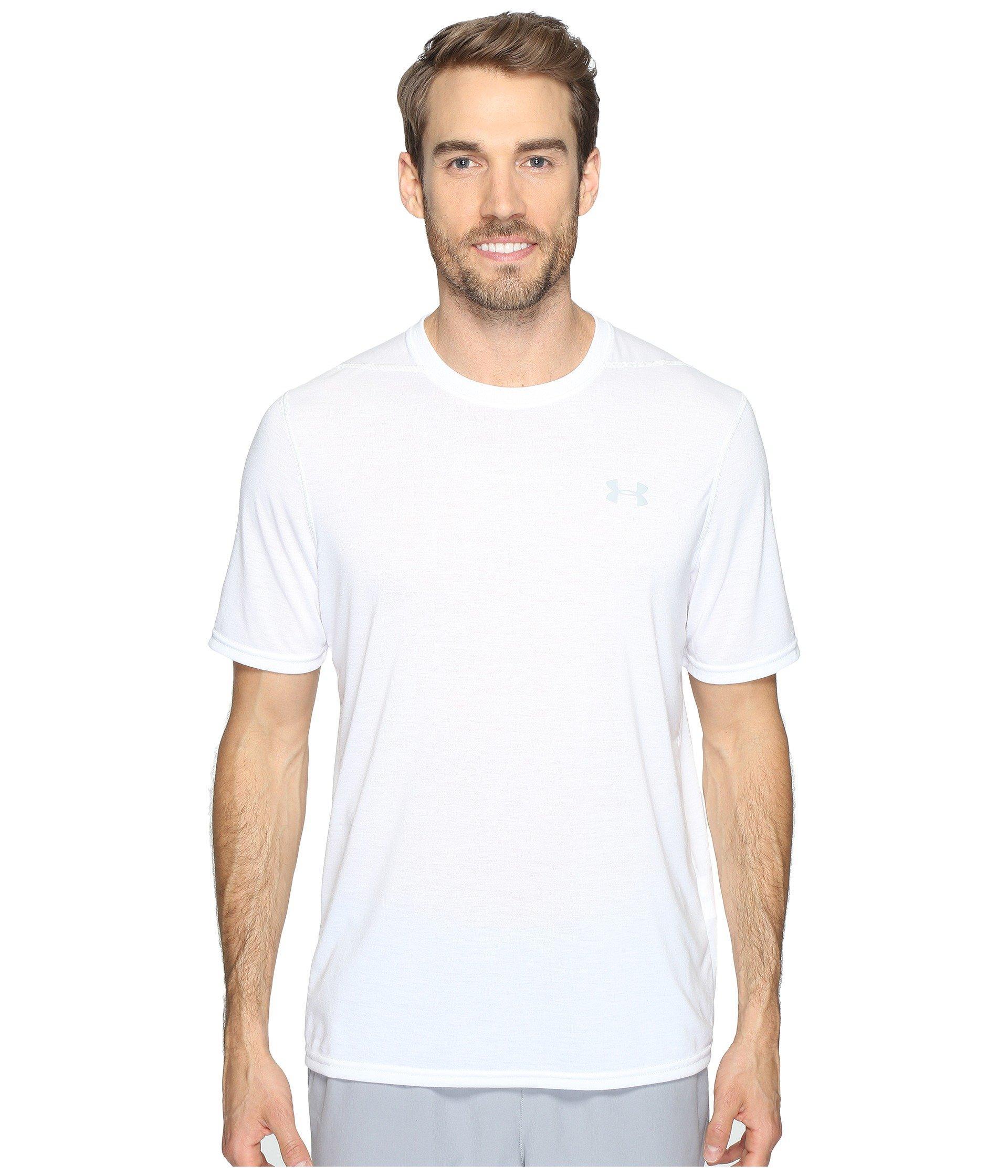 Under Armour Ua Threadborne Short Sleeve In White