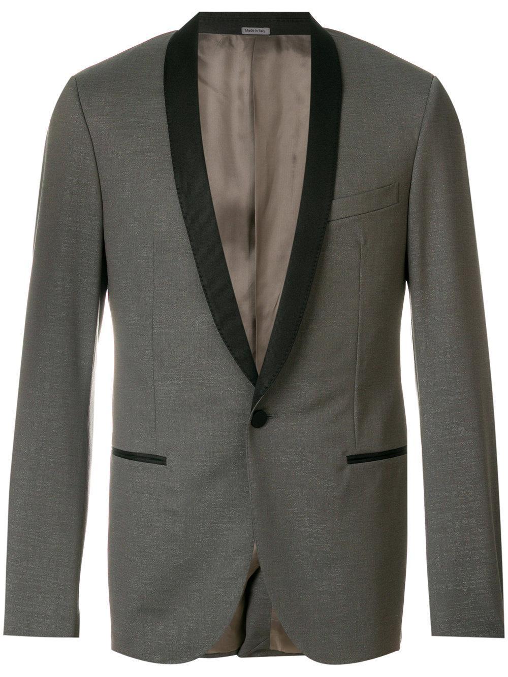 Lanvin Slim-fit Evening Jacket - Grey