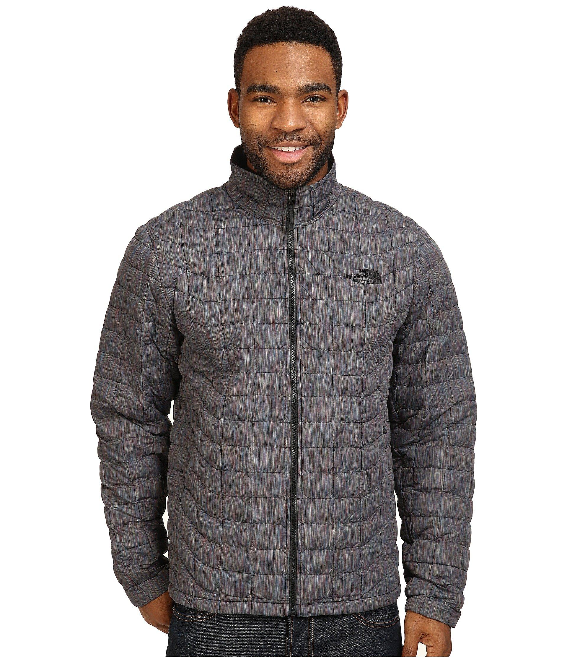 d36b13d93bc7 The North Face Thermoball™ Full Zip Jacket In Tnf Black Multicolor (Prior  Season)