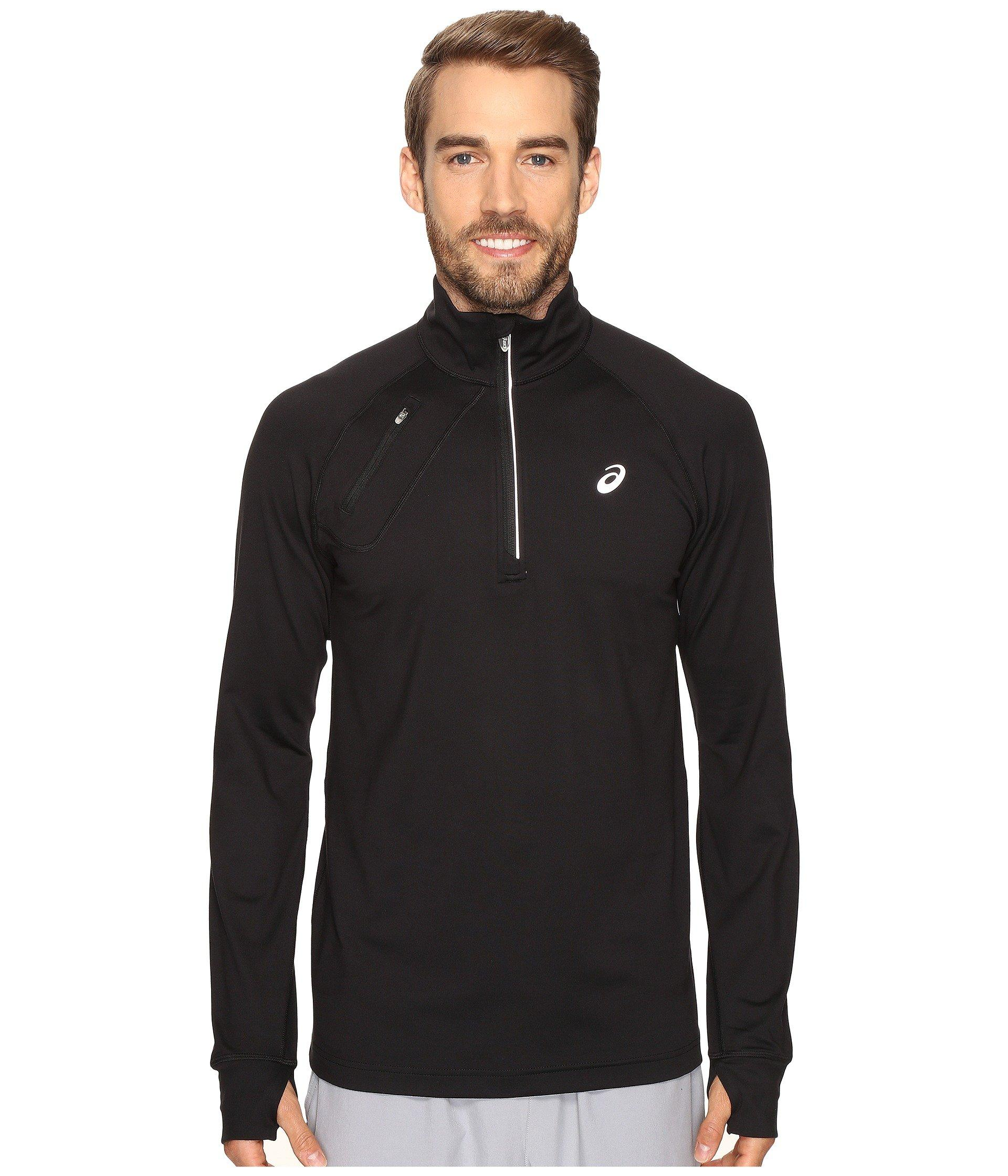 Asics Thermopolis 1/2 Zip In Performance Black