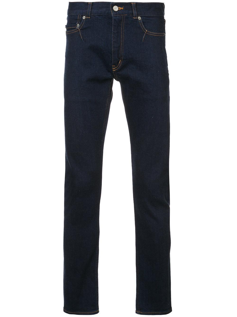 Julien David Skinny Jeans In Blue