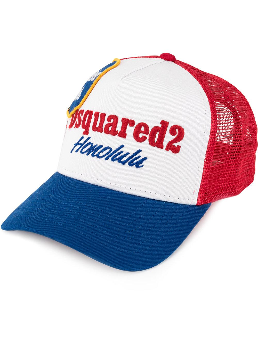 Dsquared2 Honolulu Embroidered Baseball Cap