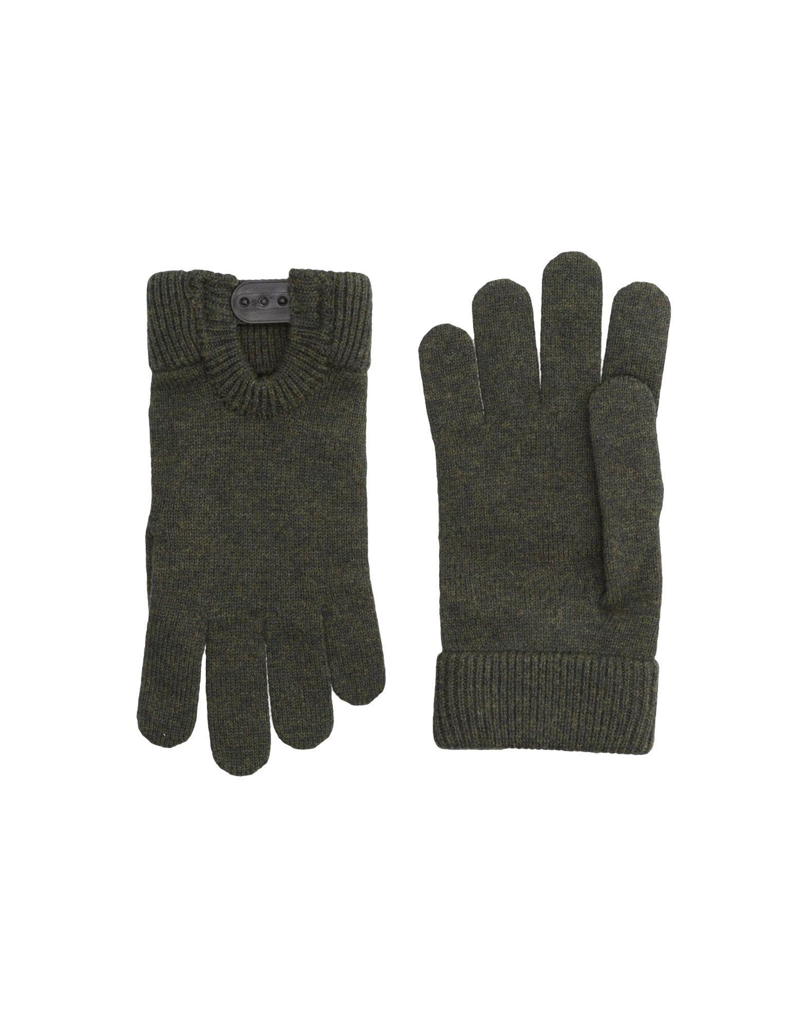 Dsquared2 Gloves In Dark Green