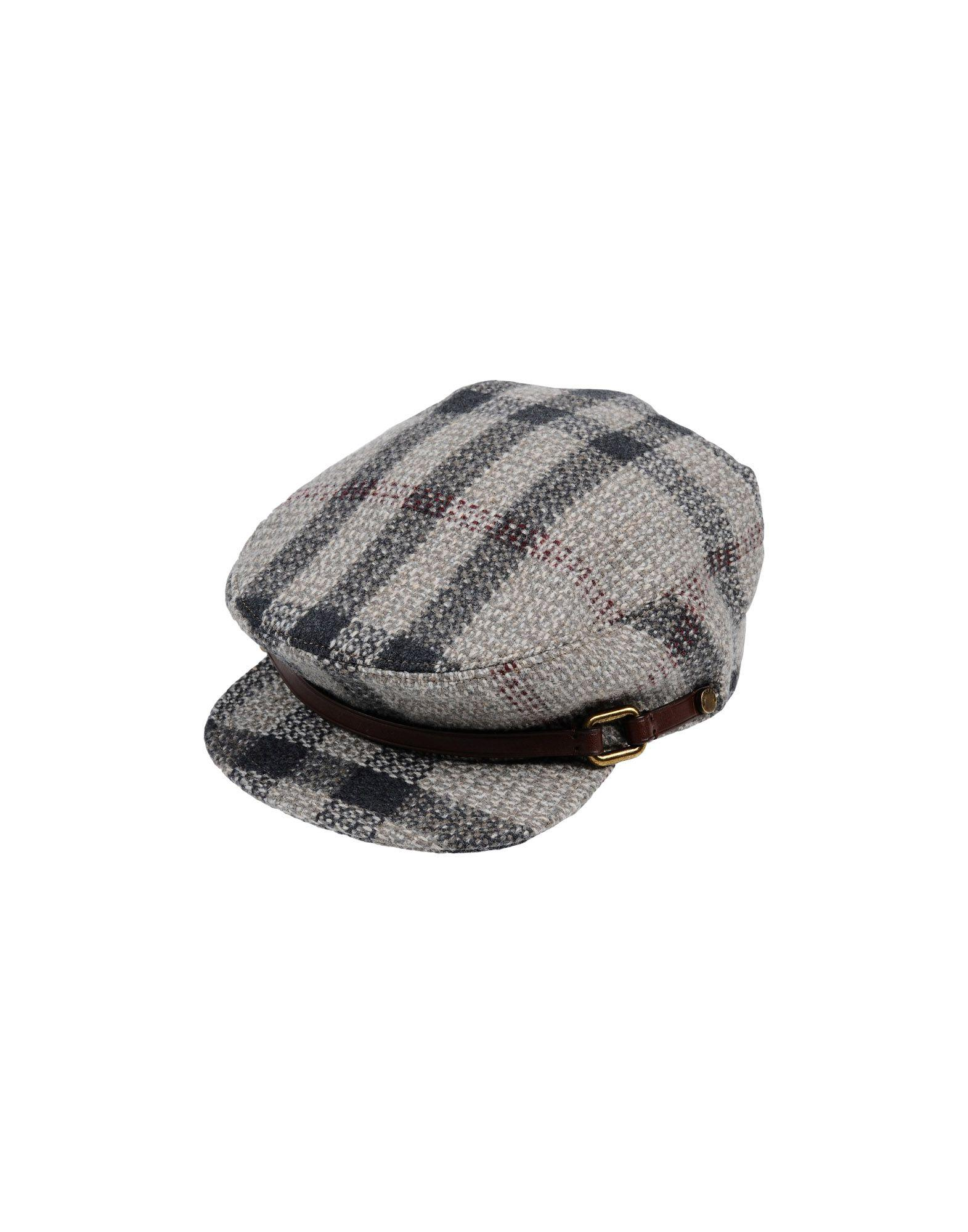 Burberry Hats In Grey