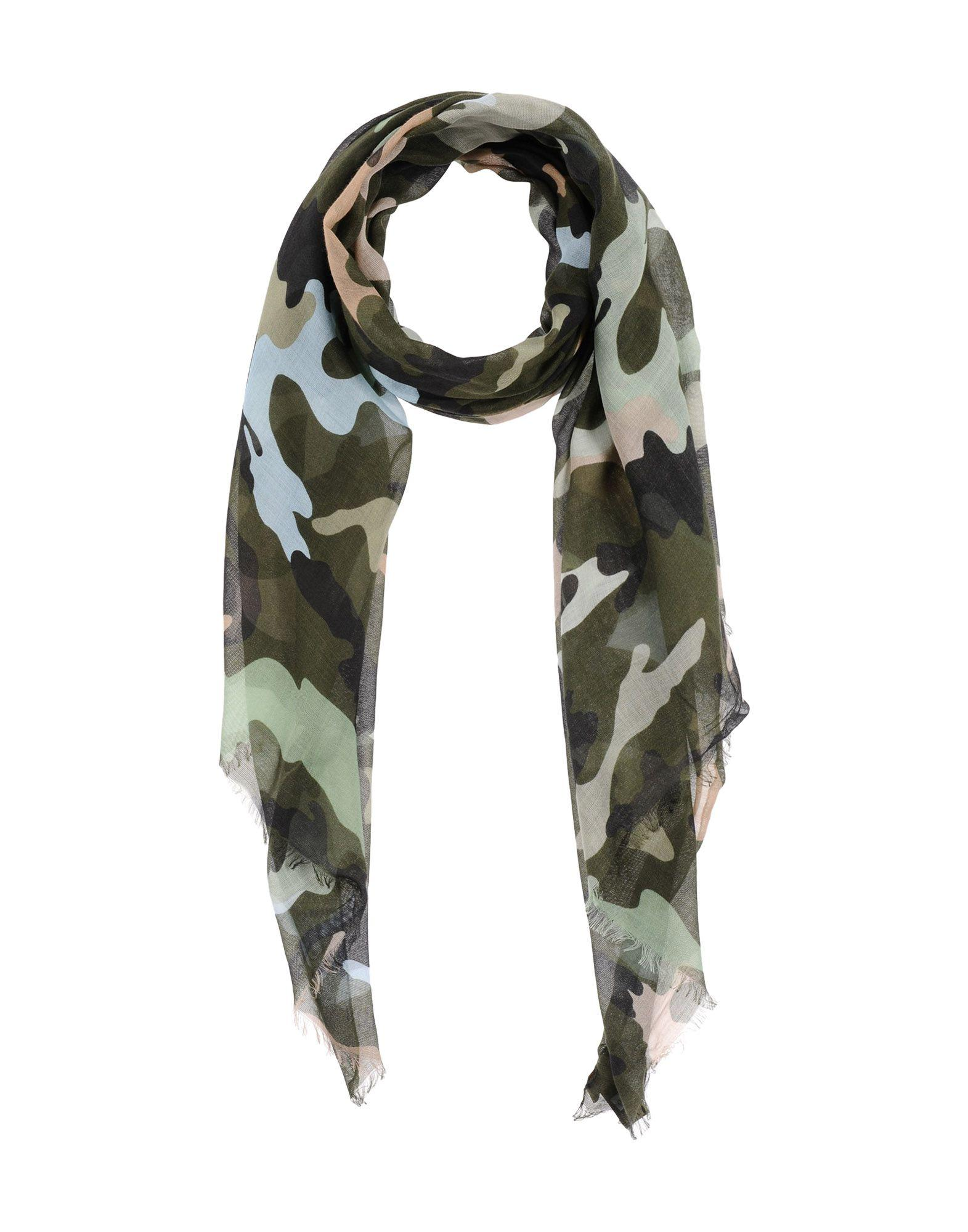 Valentino Oblong Scarves In Light Green