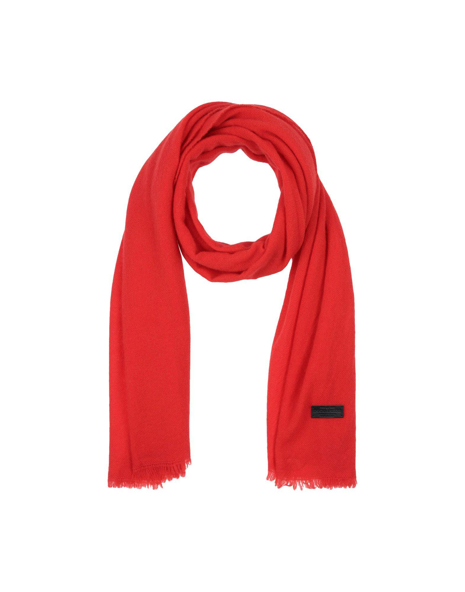 Dsquared2 Oblong Scarves In Red