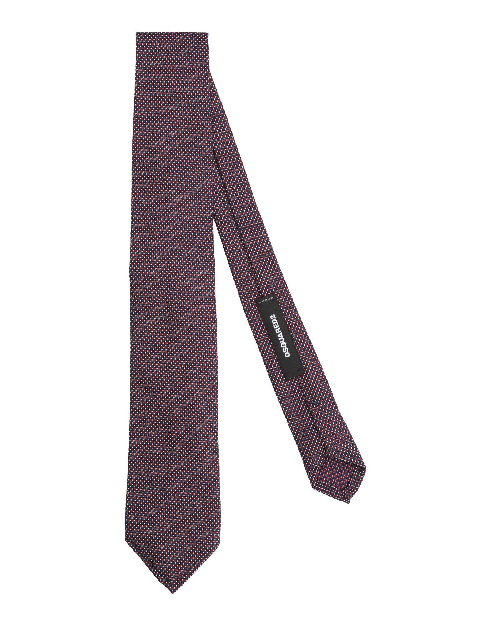 Dsquared2 Tie In Maroon