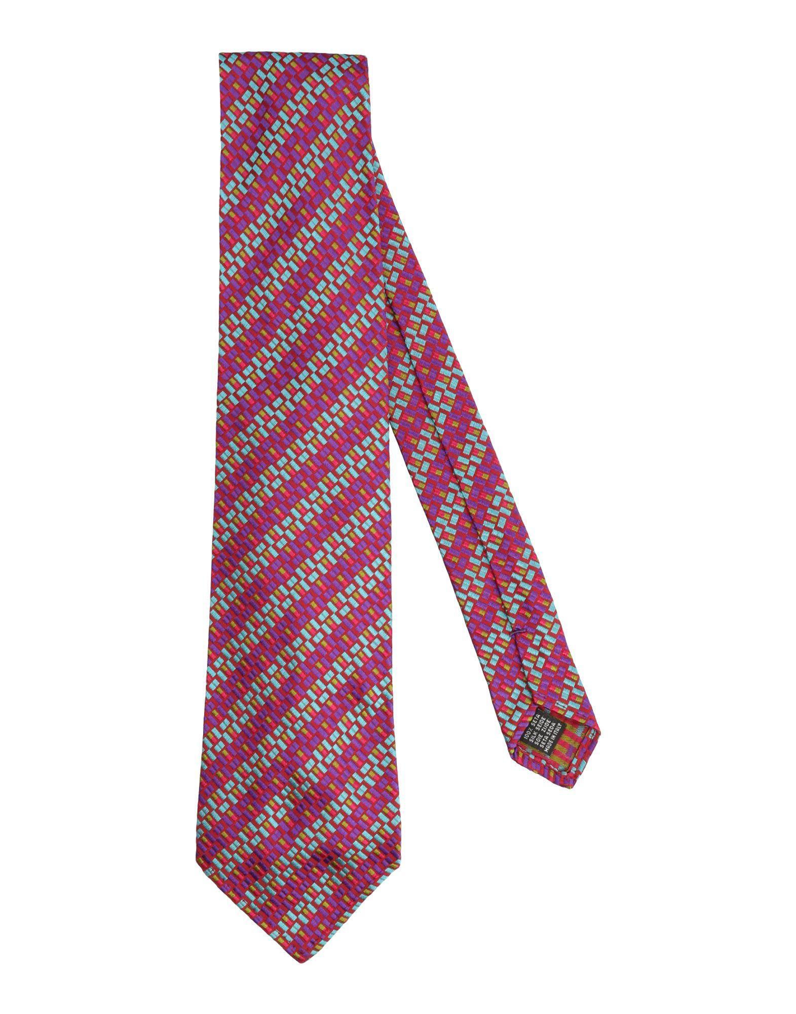 Dsquared2 Tie In Garnet