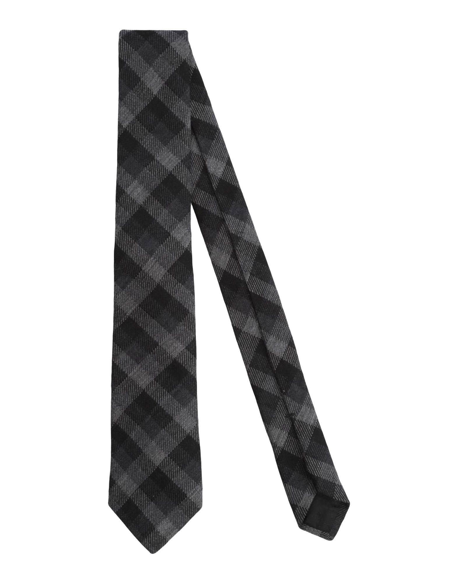 Gucci Tie In Steel Grey