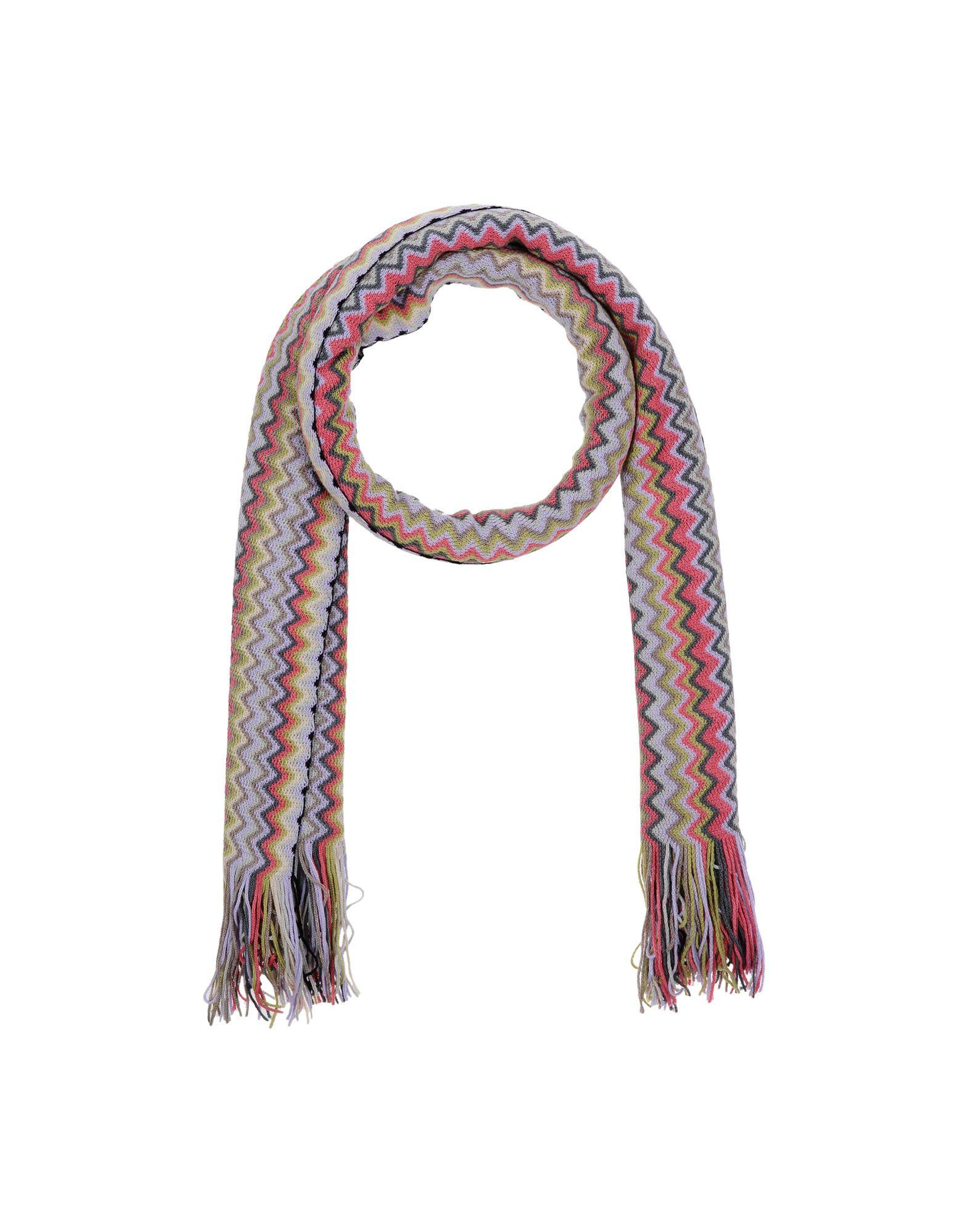 Missoni Scarves In Fuchsia