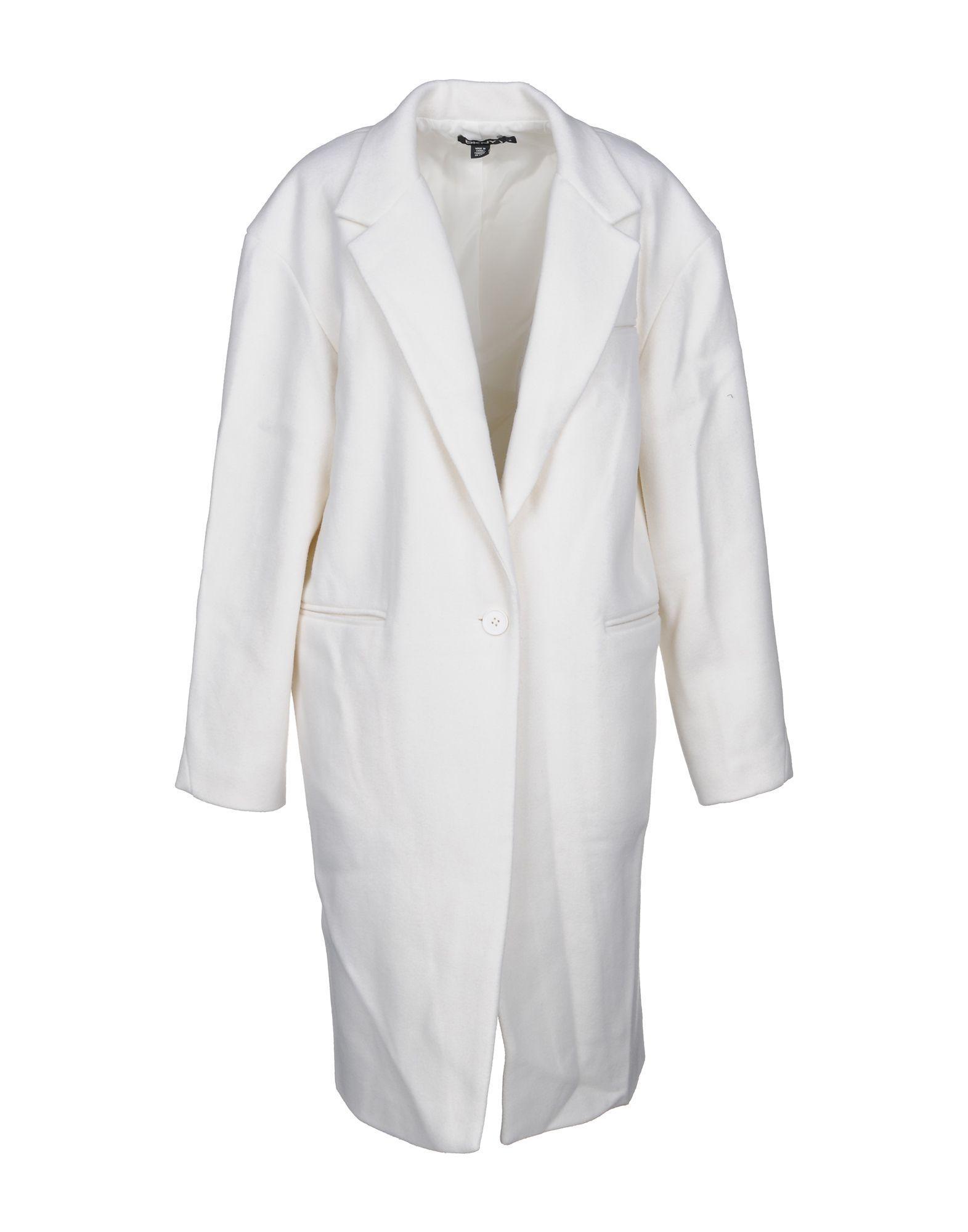 Dkny Coat In White
