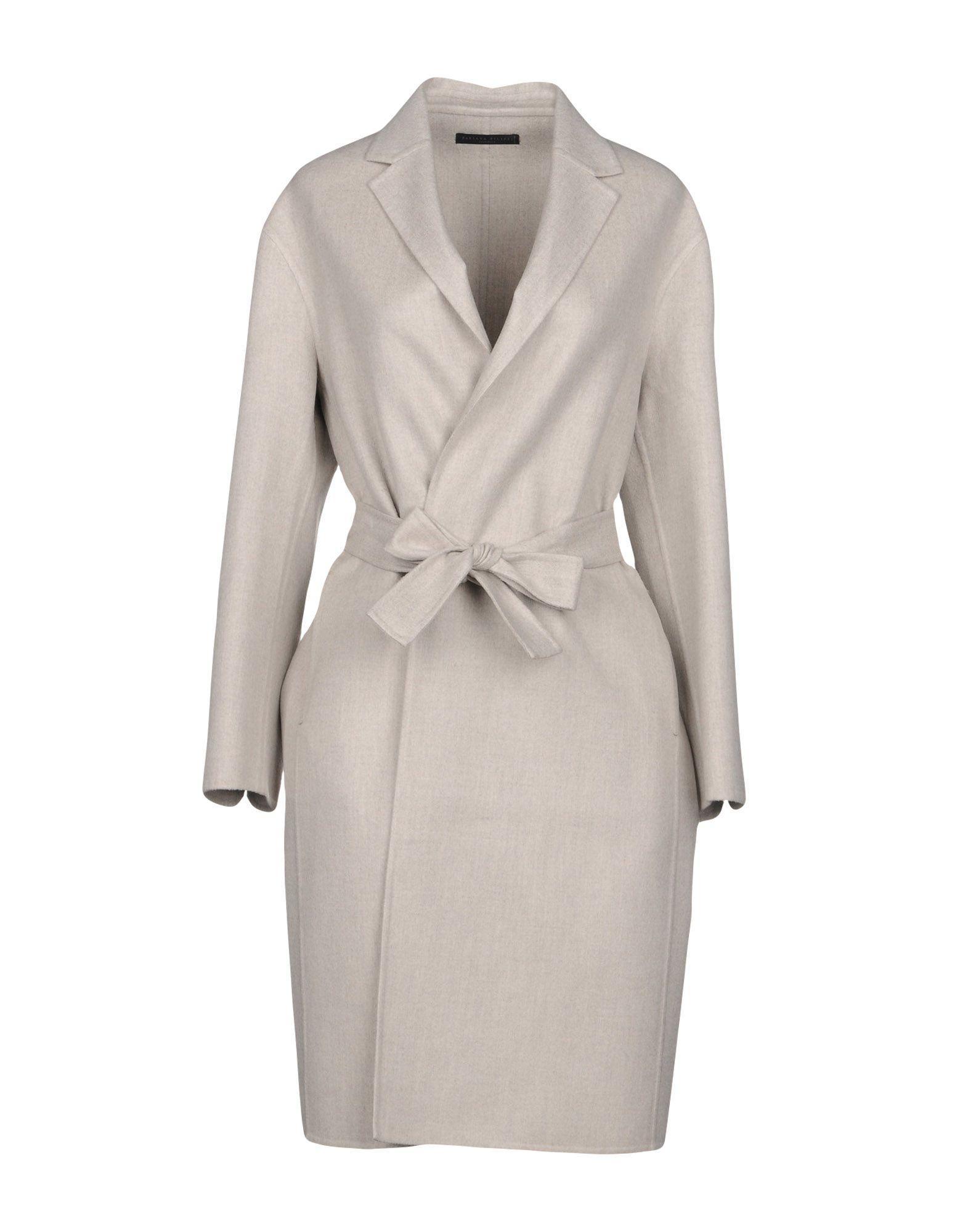 Fabiana Filippi Coats In Light Grey