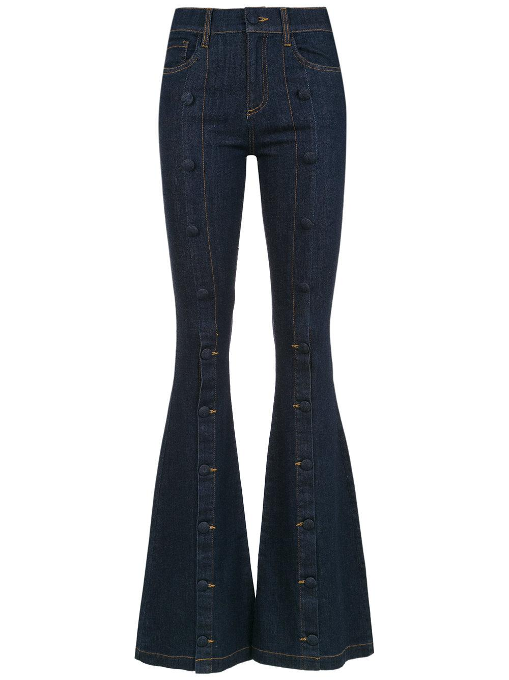 Andrea Bogosian Embellished Flared Jeans