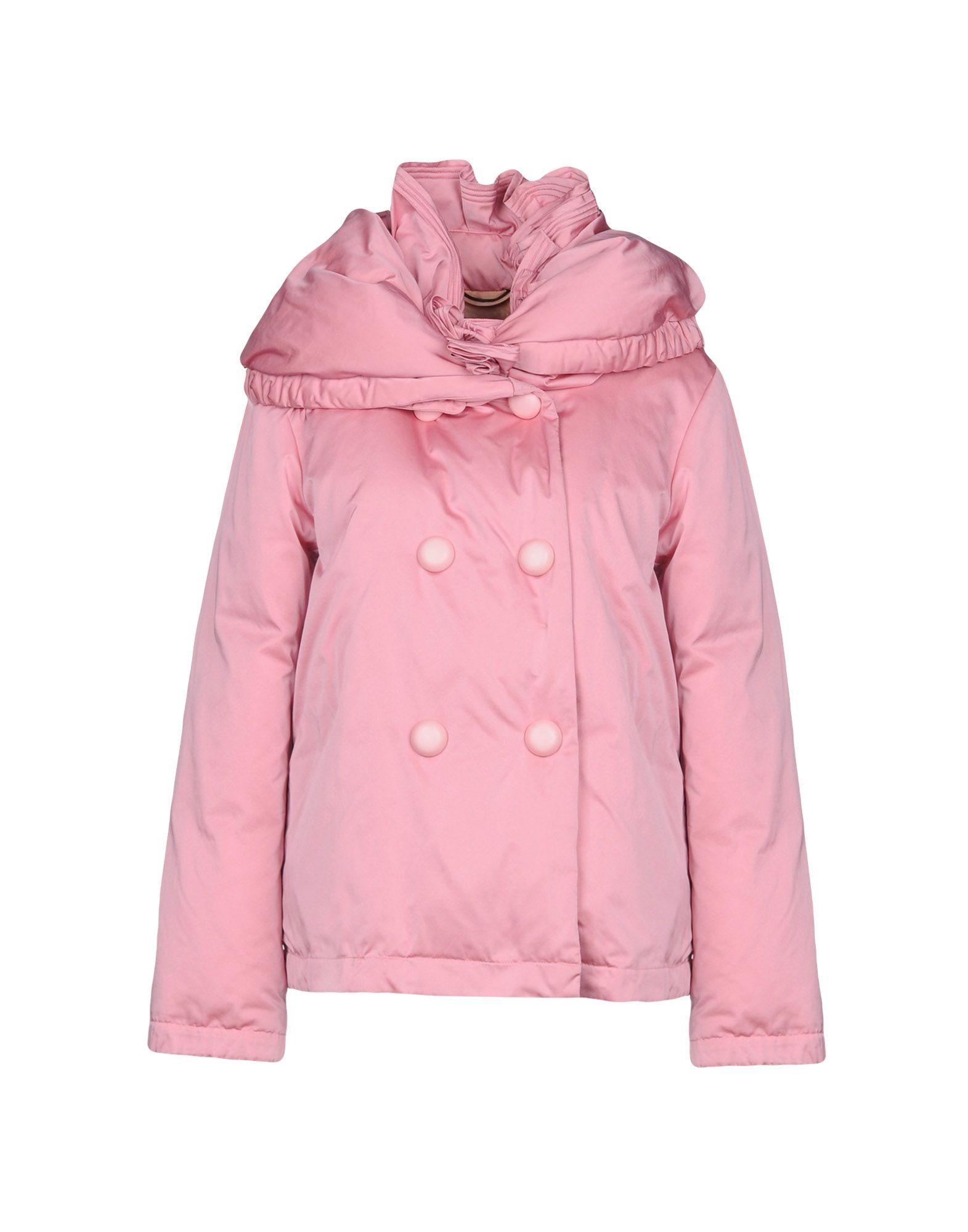 Ermanno Scervino Down Jackets In Pink