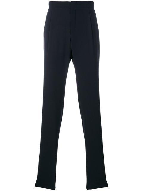 Giorgio Armani Tailored Trousers - Blue