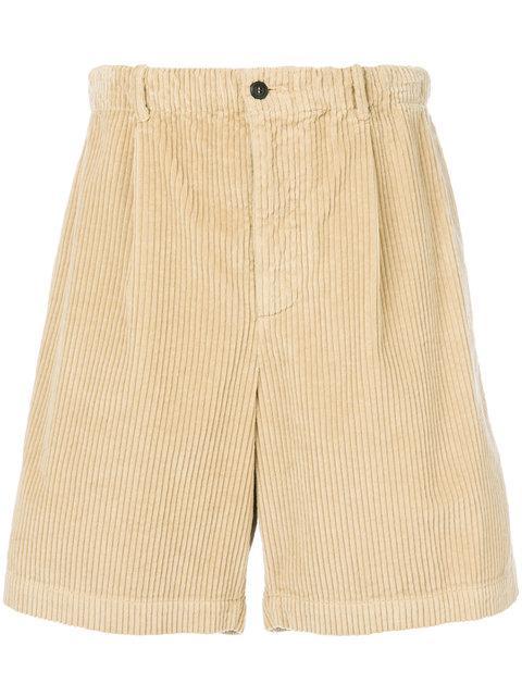 Salvatore Ferragamo Corduroy Bermuda Shorts