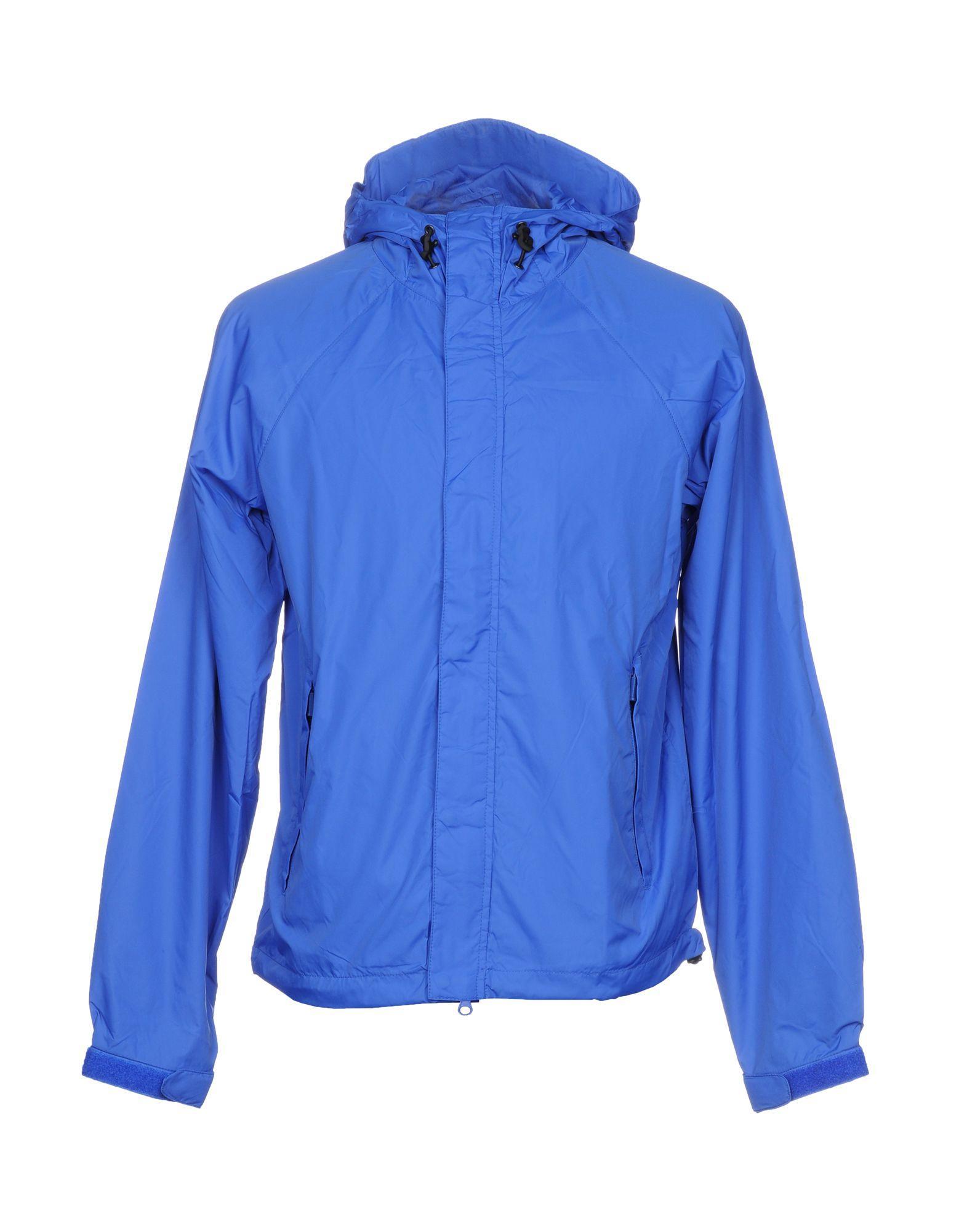 Aspesi Jackets In Bright Blue